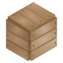 wood, box, sealed icon