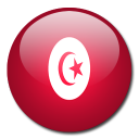 country, tunisia, flag icon