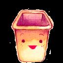 bin, empty, recycle, blank icon