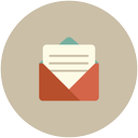 send, letter, message, document, email icon