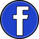 facebook, social, media icon