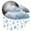 night,rain icon