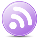 subscribe, rss, lilac, feed icon