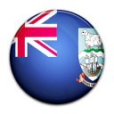 falkland, island, country, flag icon