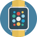 smart, time, watch, smartwatch, device, clock icon