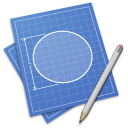 app, drafting icon