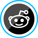 corporate, social, logo, media, reddit icon