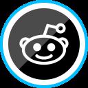 corporate, social, logo, media, reddit icon