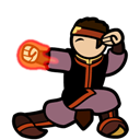 Aang, Fire, Nation icon