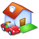 house, building, home, homepage icon