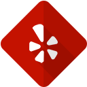 social, yelp, network, logo icon