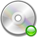 Cdrom mount icon
