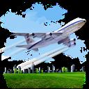 Airplane, Travel icon