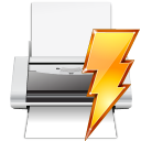 filequickprint, file, power, quick, printer, document, print, paper icon