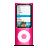 apple, pink, ipod, nano icon