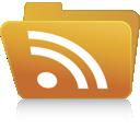 rss, folder icon