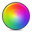 color, wheel icon