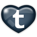 social, media, tumber icon