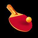 table tennis, racket, ball, ping pong, bat icon