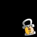 lock,overlay icon