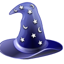 magic, hat, wizard icon