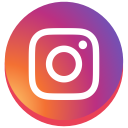 instagram new design, instagram, round, social media icon