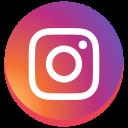 instagram new design, instagram, round, social media icon