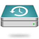 time,machine,disk icon