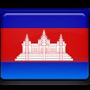 Cambodia, Flag icon