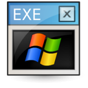 application, executable, dos, ms icon