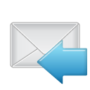 mail, message, envelop, email, reply, letter, response icon