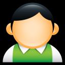 preppy, user, people, profile, account, human, green icon