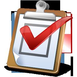 task, report, regular icon