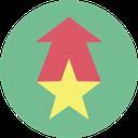 seo, ranking, up, rank icon