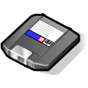 save, zip, disk, disc icon