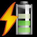 Status battery charging 060 icon