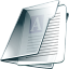account, profile, human, people, user, document, paper, file icon