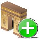 Add, Arcodeltriunfo icon