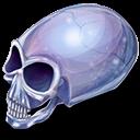 crystal, skull icon