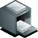 drawer, kfm icon