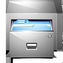 document, drawer, kfm, paper, folder, file icon