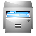 Documents, Drawer, Folders icon
