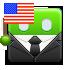 election, united states, usa, america icon