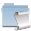 script,folder,badged icon
