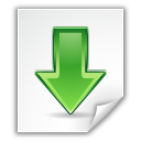 Arrow, Down, Download, File icon