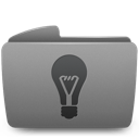folder, idea icon