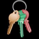 Key, Keychain, Lock, Locked, Password, Security icon
