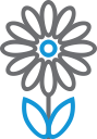 flower, garden, blossom, plant, decoration icon