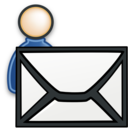 send,email,user icon
