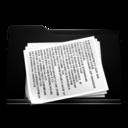 black,folder,document icon
